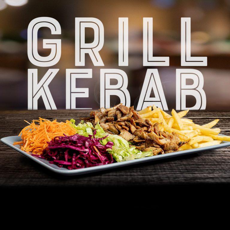 kebab no prato