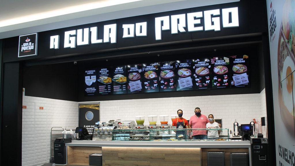 Loja da gula no Palácio do Gelo em Viseu